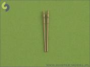 Master Model 1:700 USN 5 Inch L62 12.7cm Mark 45 Metal Barrels 2pc #SM700021