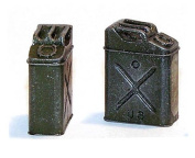 Plus Model 1:35 US Gas Can WWII Resin Diorama Accessory #EL037
