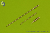Master Model 1:72 Machined Metal SAAB 37 Viggen Pitot Tube & AoA Probe #AM72056