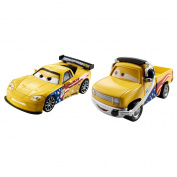 Disney/Pixar Cars Collector Die-cast Jeff Gorvette & John Lassetire 2-Pack