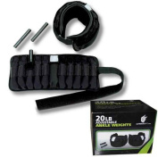 Ultimately Fit 9.1kg Adjustable Ankle Weights