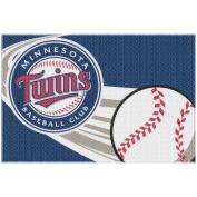 MLB Minnesota Twins 50cm x 80cm Tufted Bath Rug