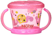 Nuby Snack Keeper – Bowl With Soft Flap, Pink