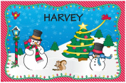 Christmas Placemat - Harvey
