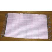 Bungalow Rose Bangou Hand-Woven Pink Area Rug