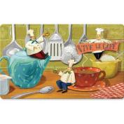 Fleur De Lis Living Boxelder Viva Le Caf Kitchen Mat