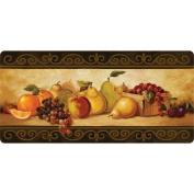 Fleur De Lis Living Boylston Gourmet Fruit Kitchen Mat
