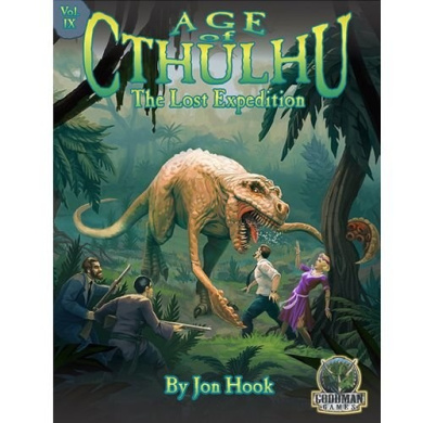 Age of Cthulhu 9: The Lost Expedition