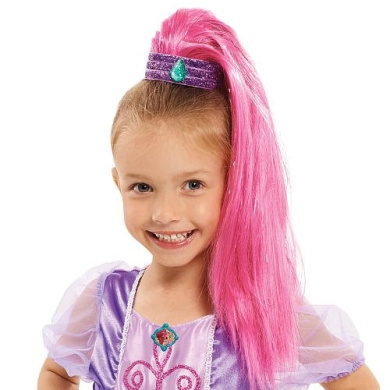 Nickelodeon Shimmer and Shine Ponytail - PINK SHIMMER