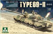 Takom 1:35 Iraqi Medium Tank Type 69-II (2 in 1) - Plastic Model Kit #2054