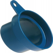 Loc-Line Vacuum Hose Component, Blue Acetal Copolymer, Shop Vacuum Adapter with Mounting Tab