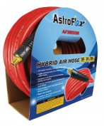 ASTRO PNEUMATIC TOOL CO AIR HOSE, HYBRID 1cm X 15m RED