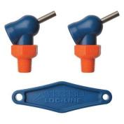 LOC-LINE 72046 Nozzle, XR Style, 0.2cm .dia, PK2