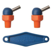 LOC-LINE 72024 Nozzle, CT Style, 0.4cm .dia, PK2