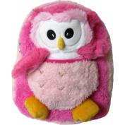 Kreative Kids 48206 Pink Owl Plush Backpack