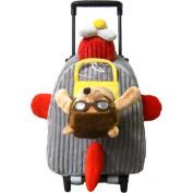 Kreative Kids 8067 Aeroplane Rolling Backpack