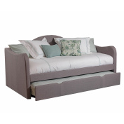 Upholstered Day Bed, Taupe