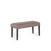 Nice Nailhead Upholstered Dining Bench, Multiple Colours