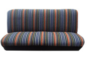 Baja Blue Saddle Blanket Bench Seat Coverd Fit Colourful Stripes For fits Nissan Versa