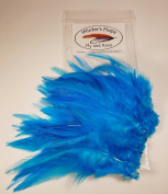 Strung Saddle Hackle Feathers Fly Tying Craft Hobby Hair Various Colours