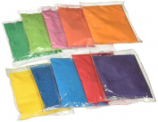 Buycrafty Festival Colours (Rangoli) Holi Colours, 100 Gramme Packets