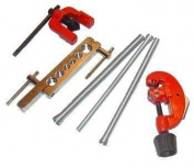 6 Piece Flaring Tool Kit Set Tubing Flare Tube Small Pipe Spring Bender Bending