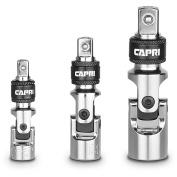Capri Tools Quick-Release Universal Joint Set, 3 Pieces