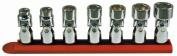 Rel Products, Inc. ATD-1257 3/8 Dr. Sae 6-pt Flex Socket Set, 7pc.