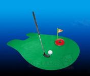 WEIYI Putter Putting Mat Golf Mini Toilet Golf Game-Kids Toys