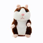 Hamster Mouse Toys Kingha Adorable Mimicry Pet Speak Talking Record Plush Kids Toys