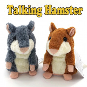 Kids Toys Plush Toys Speak Talking Record Hamster Mouse By Makaor