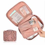 Sinfu 1PC Handbag Hanging Toiletry Kit Clear Travel Cosmetic Makeup Bag