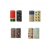 Sinfu 1PC Mini Candy Trinket Tin Jewellery Tea Coin Storage Square Box Case