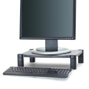 Mind Reader 'Guide ' Adjustable Plastic Monitor/ Laptop Stand, Black