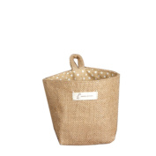 Sinfu Storage Sack Cloth Hanging Non Woven Storage Small Basket