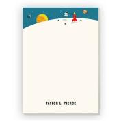 Space Hero Personalised Notepad