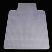 Zimtown PVC Transparent Chair Mat Floor Protection Home Office Carpet Protector