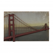 Golden Gate Bridge-Golden Gate Bridge In Set On Print