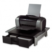 Office Suites Printer/machine Stand, 21 1/4 X 18 1/16 X 5 1/4, Black/silver