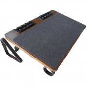 BetterPosture Massaging Adjustable Wood Footrest, BP1250