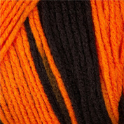 Caron P & c Twists 3-56.7g Black With Orange