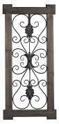 Hatfield-Rectangular Scroll Work Wall Panel