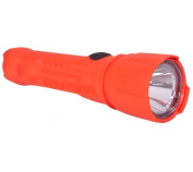 Koehler Bright Star Razor 3-AA LED Flashlight, Safety Orange