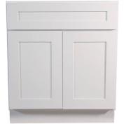 Design House 561399 Brookings 80cm Base Cabinet, White Shaker
