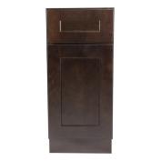 Design House 561944 Brookings 50cm Base Cabinet, Espresso Shaker