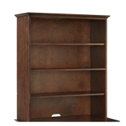Crosley Furniture Valley Forge Hutch, Vintage Cherry