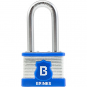 Brinks Maxiumum Security 44MM Laminated Steel Promax Padlock