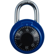 Brinks Dial Combination Padlock, Assorted Colours