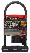 "MAX-SECURITY 5"" x 11"" U-SHACKLE LOCK W/ 14MM SHACKLE"