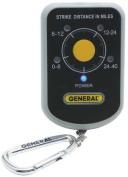 GENERAL LD7 Personal Lightning Detector, 40 Miles